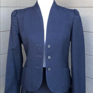 Classic Pin Stripped Wool Suit